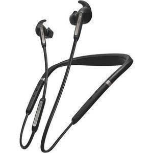 Jabra Elite 65e Wireless Neckband with Earbuds - Titanium Black