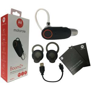 Headphones Bluetooth Motorola Boom 2+ Black