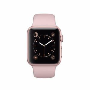 Apple Watch (Series 3) 38mm - Gold Aluminum Case - Pink Sand Sport Band