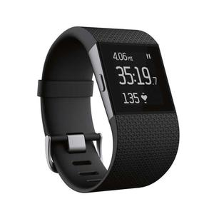Fitbit Surge FB501BKS - Heart Rate + Fitness Wristband - Black - Small