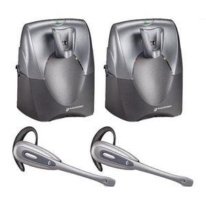 Wireless Earphones Plantronics CS55-R (2-Pack) - Gray