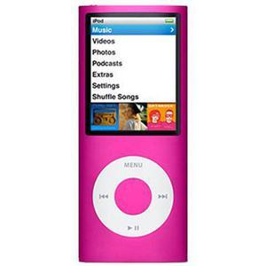 iPod Nano 4th Gen 8GB Pink