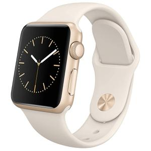 Apple Watch ( Series 1 ) 38mm - Gold Aluminum Case with White Sport Band