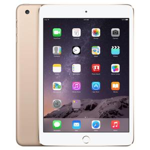 iPad mini 3 (September 2014) 16GB - Gold - (Wi-Fi + GSM/CDMA + LTE)