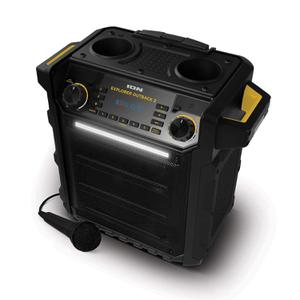 Ion Explorer Outback 2 High-Power Bluetooth Water Resistant Speaker System featuring Cupholders, Bottle Opener, and Bass Boost Control