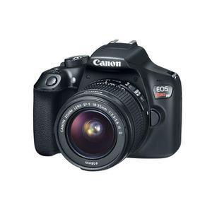 Digital SLR Canon EOS Rebel T6 EF-S 18-55mm f/3.5-5.6 IS II - Black + Lens Kit