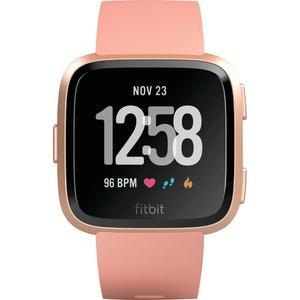 Fitbit Smart Watch Versa HR GPS - Peach / Rose Gold