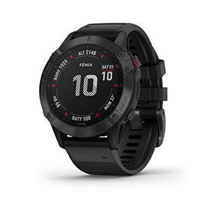 Garmin Smart Watch Fenix 6S Pro HR GPS - Black