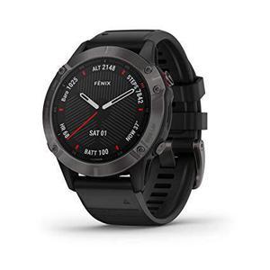 Garmin Smart Watch Fenix 6 Sapphire GPS - Carbon Gray