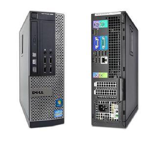 Dell OptiPlex 990 Core i7 3.4 GHz GHz - SSD 1000 GB + HDD 3 TB RAM 16GB