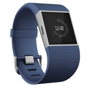Fitbit Surge - Heart Rate + Fitness Wristband - Blue - Large