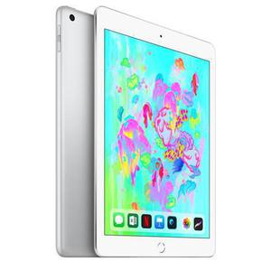 iPad 9.7-Inch 6th Gen (March 2018) 128GB  - Silver - (Wi-Fi + Cellular)
