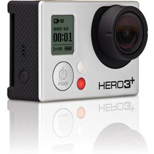 GoPro Hero3+ Black Edition - Silver - Waterproof Digital Action Camera
