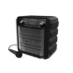 Bluetooth Speaker Wireless ION Tailgater Express Game - Black