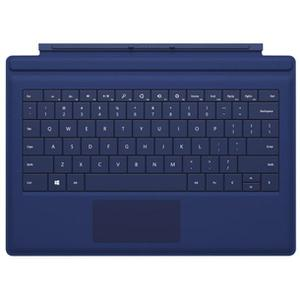 Keyboard Microsoft Surface 3 Type Cover Qwerty Backlit - Blue