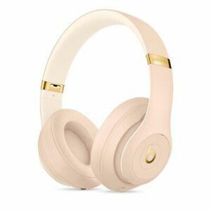 Beats By Dr. Dre Studio 3 Noise reducer Headphone Bluetooth with microphone - Desert Sand