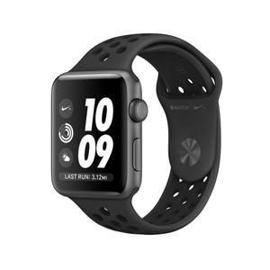 Apple Watch (Series 3) 42 mm - Aluminium Space Gray Aluminum - Sport Band Anthracite/Black
