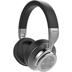 Headphone Noise Cancelling Bluetooth Damson HeadSpace - Gray