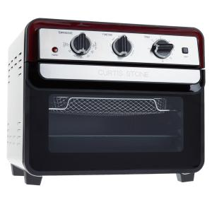 Mini Oven/Air Fryer Curtis Stone Dura-Electric 679-725 - Black/Silver/Red