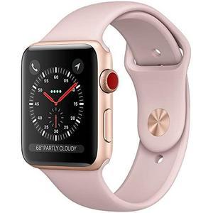 Apple Watch (Series 3) 42 mm - Aluminium Gold - Sport Band Pink