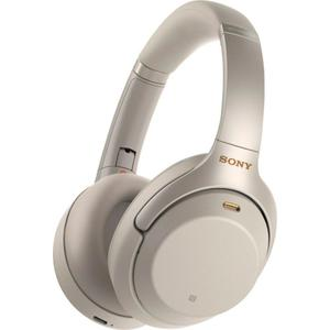 WH-1000XM3 Noise reducer Headphone Bluetooth with microphone - Silver