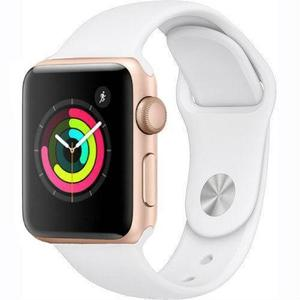 Apple Watch Series 2 38mm Gold Aluminum Case - White Sport Band