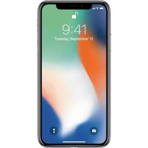 iPhone X 64GB   - Silver Unlocked