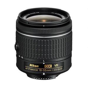 Lens Nikon 18-55 mm f/3.5-5.6 G VR AF-P DX Nikkor - Black