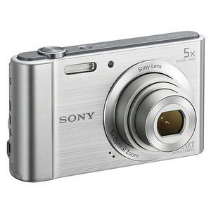 Compact Sony DSC-W800 - Silver + Lens Zoom 4.6 - 23 mm - f/3.2-6.4.