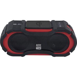 Altec Lansing Boom Jacket Jolt Bluetooth Speakers - Red/Black