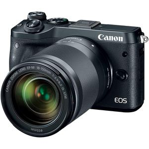 Hybrid Canon EOS M6 + Lens EFM 18-150 mm f/3.5-6.3 IS STM - Black