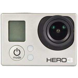 Sport Camera GoPro Hero 3 - Silver + Waterproof Case + Adhesive Mount + 8G SD Card + Battery+ USB USB Charger