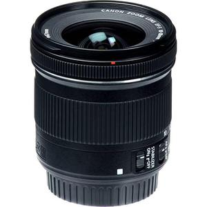 AOM Canon EF-S 10-18mm f/4.5-5.6 Ultra Wide Mount 10-18 mm Lens with UV Filter