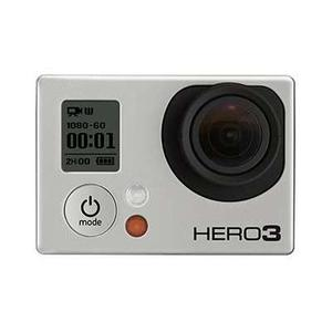 Sport Camera GoPro Hero 3 - Black + 40PCS Accessory + Waterproof Case + Remote Control + 8G SD Card + Adhesive Mount + USB Charger + Battery