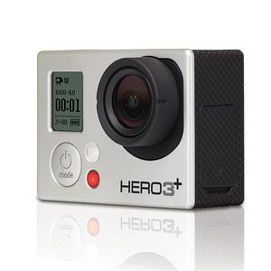 Sport Camera GoPro Hero3+ - Silver + 40 PCS Accessory + Waterproof Case + 8G SD Card + Adhesive Mount + USB Charger + Battery