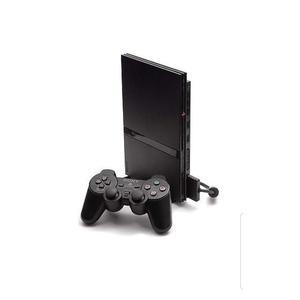 PlayStation 2 Slim - HDD 1 GB - Black