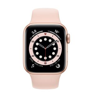 Apple Watch (Series SE) September 2020 40 mm - Aluminium Gold - Sport Band Pink sand