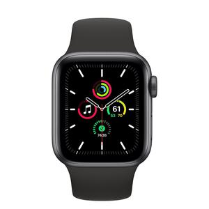 Apple Watch (Series SE) September 2020 40 mm - Aluminium Space gray - Sport Band Black