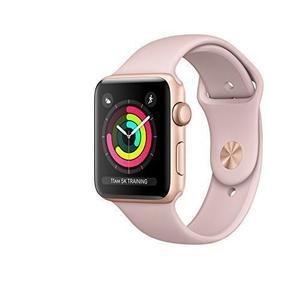 Apple Watch 38mm (Series 3) - Gold Aluminum Case - Pink Sand Sport Band