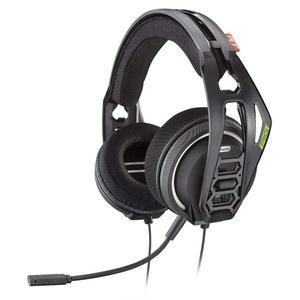 Plantronics RIG 400HX 214417-03 Gaming Headphone with microphone - Black