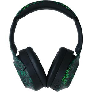 Razer x *A Bathing Ape® Opus Noise reducer Gaming Headphone Bluetooth with microphone - Black/Green