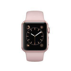 Apple Watch (Series 1) 38mm - Rose Gold Aluminum Case - Pink Sport Band