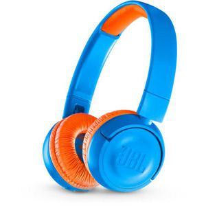 Jbl JR300BT Headphone Bluetooth - Blue/Orange