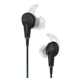 Headphones Microphone Bose Quietcomfort 20 - Black