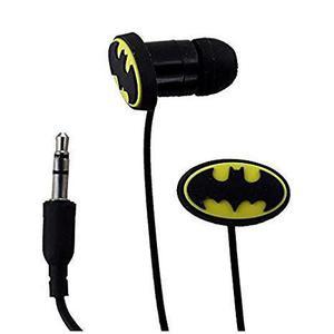 Earphones DC Batman - Black/Yellow