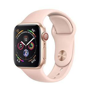 Apple Watch (Series 4) 44mm (GPS + Cellular) Aluminium Rose Gold - Pink Sport Band