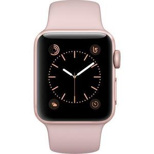 Apple Watch (Series 2) - 38mm - Aluminum Rose Gold - Pink Sand Band