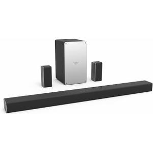 Home Theater - Bluetooth - VIZIO SB3651-F6B-RB - Black/Silver