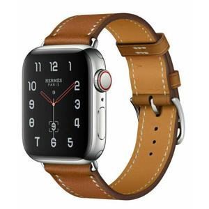 Apple Watch Series 4 Hermes 44mm (GPS + Cellular) - Stainless Steel Case - Leather Band