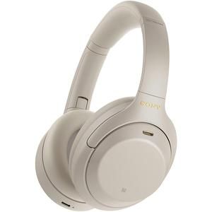 Sony WH1000XM4 Noise reducer Headphone Bluetooth with microphone - Silver